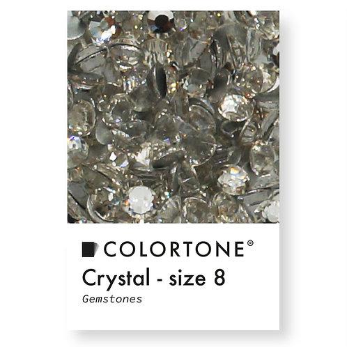 Crystal - Size 8 - Colortone Gemstones
