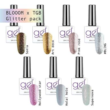 BLOOOM x TGB glitter Must haves pack