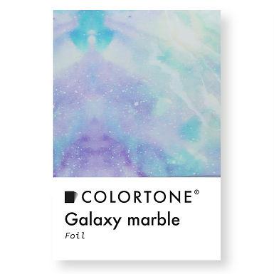 Galaxy marble foil
