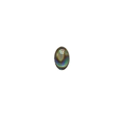 Shellstone Oval Green