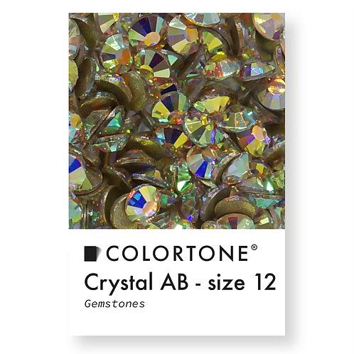 Crystal Aurora Borealis - Size 12 - Colortone Gemstones