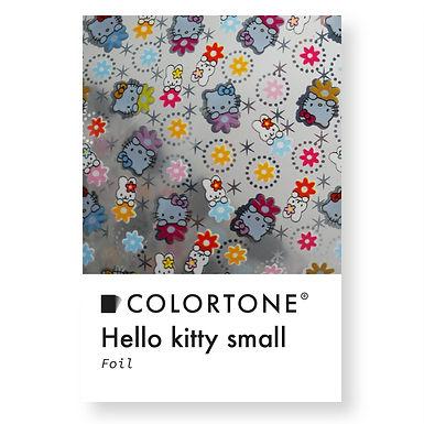 Hello kitty small foil