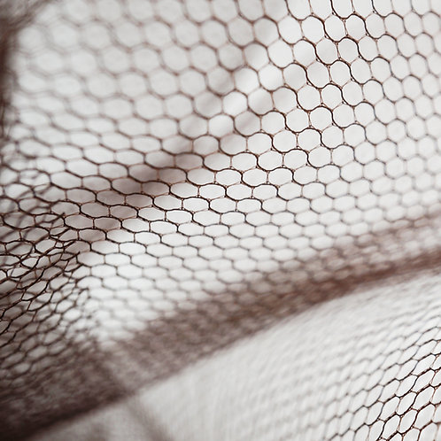 Nail art netting - CHOCLATE