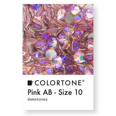Pink Aurora Borealis - Size 10 - Colortone Gemstones