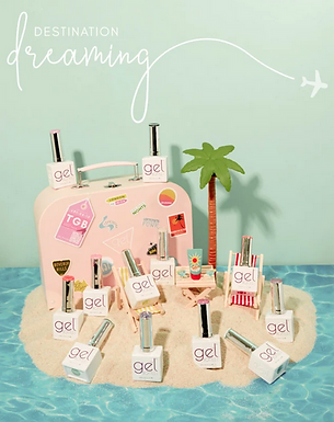 The GelBottle Summer Collection 2020 Suitcase full collection