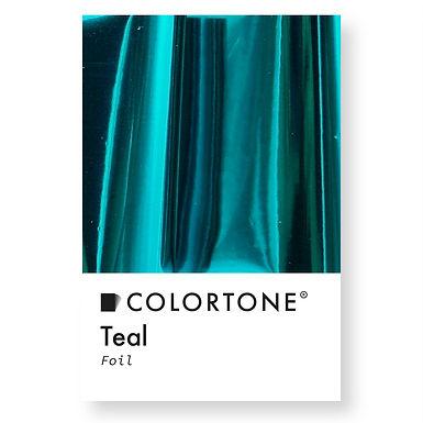 Teal foil