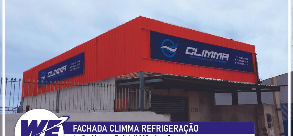 Fachada Climma Refrigeração