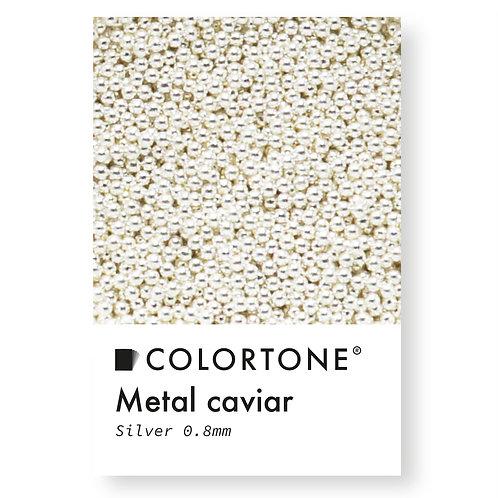 Metal caviar Silver 0,8mm