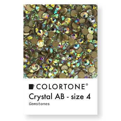 Crystal Aurora Borealis - Size 4 - Colortone Gemstones