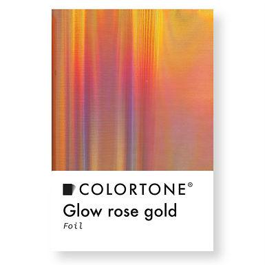 Glow rose gold foil