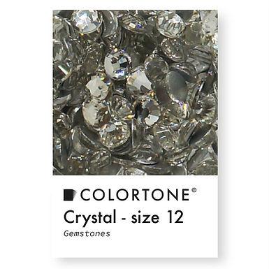 Crystal - Size 12 - Colortone Gemstones