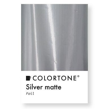 Silver Matte foil
