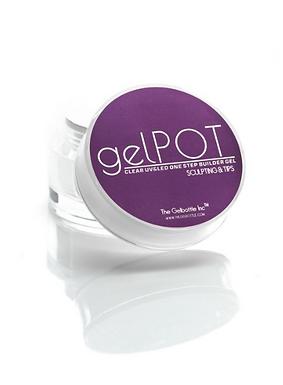 The GelBottle Mini GelPot Clear Builder Gel 5g