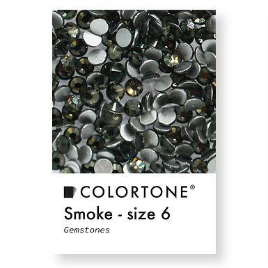 Smoke - Size 6 - Colortone Gemstones
