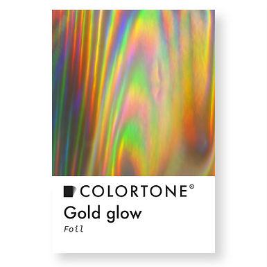 Gold glow foil