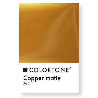 Copper matte foil