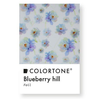 Clear Blueberry hill foil