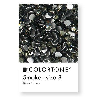 Smoke - Size 8 - Colortone Gemstones