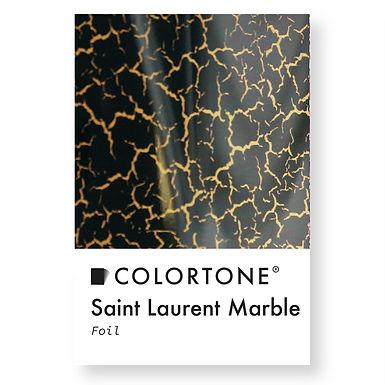 Saint Laurent marble foil
