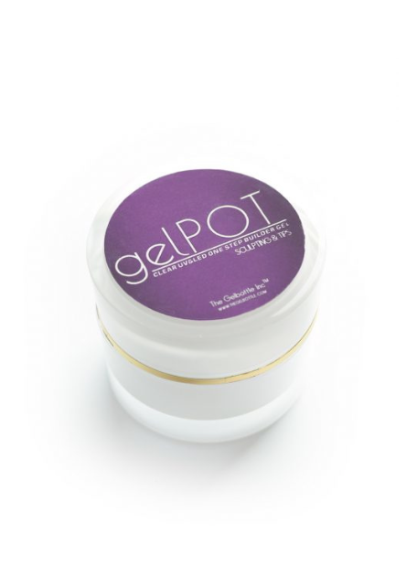 The GelBottle GelPot White Builder Gel 30g