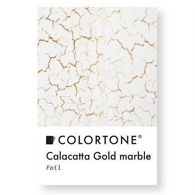 Calacatta gold marble foil