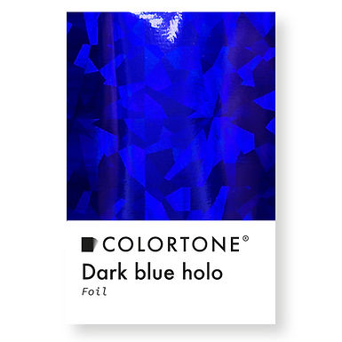 Dark blue holo foil