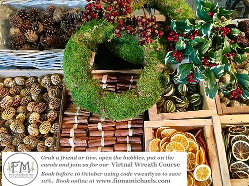 Virtual Wreath Course