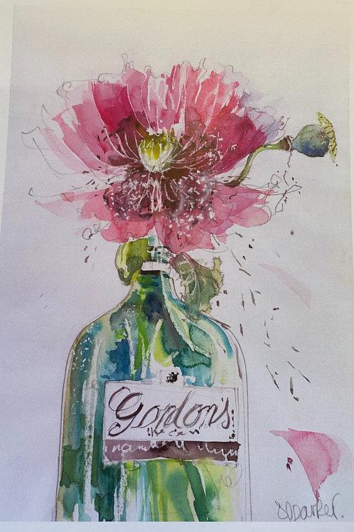 Poppy in Gin