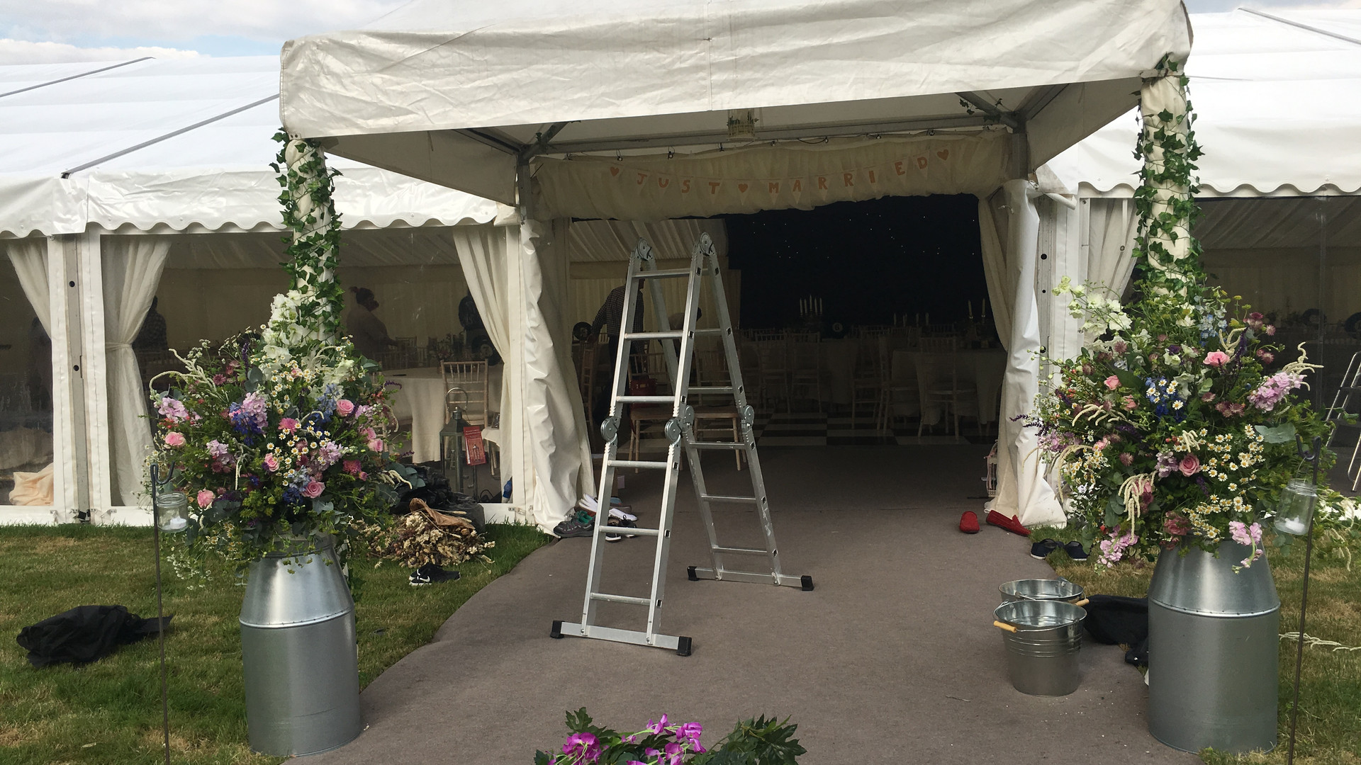 Marquee Entrance