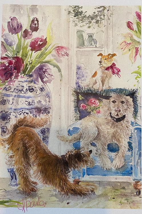 Dogs in Posh Florist