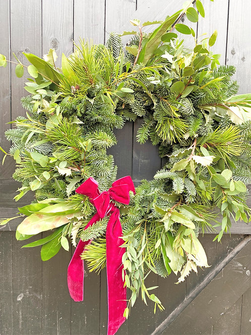 Wreath - Natural