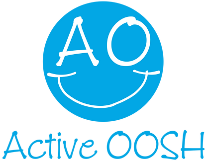 Active OOSH Smiley With Active OOSH Writ