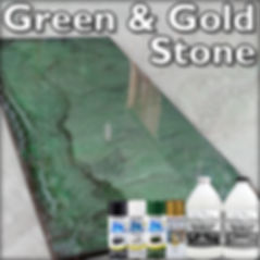 Green and Gold Stone 960 Stone Coat Coun