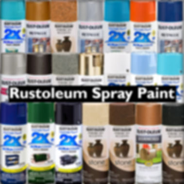 Rustoleum Spray Paints Cover Stone Coat