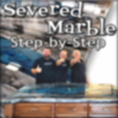 Severed Marble  Stone Coat Countertop Ep