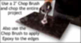 Black Galaxy Epoxy Stone Coat Countertop