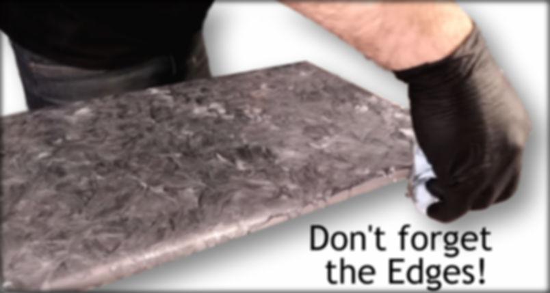 Metallic Epoxy Magic Stone Coat Countert