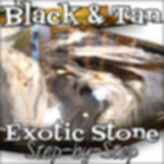 Black & Tan Exotic Stone Step-by-Step 96