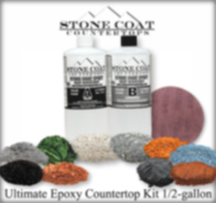 Ultimate Epoxy Countertop Kit - Half Gal