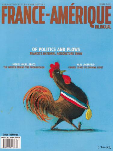 FRANCE AMERIQUE AVRIL 2019