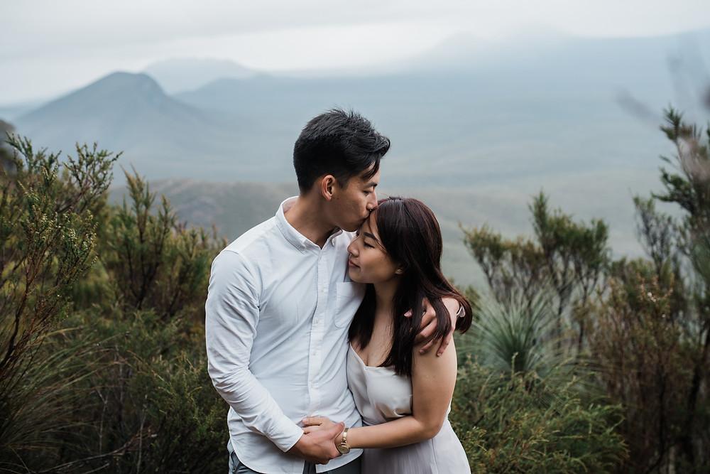 Albany Engagement Shoot - Perth wedding photographer