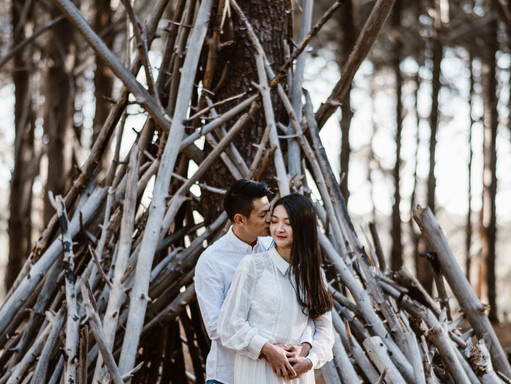 Wanneroo Pines, Burns Beach Engagement - Z and Yanni
