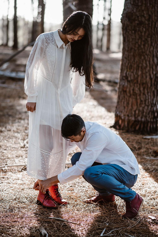 Wanneroo Pines Engagement - Perth Wedding Photographer - Rachel Puan Photography