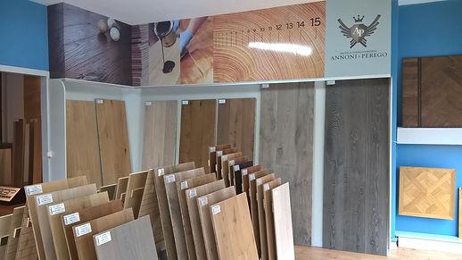 esposizione parquet Cost Volpino Bergamo