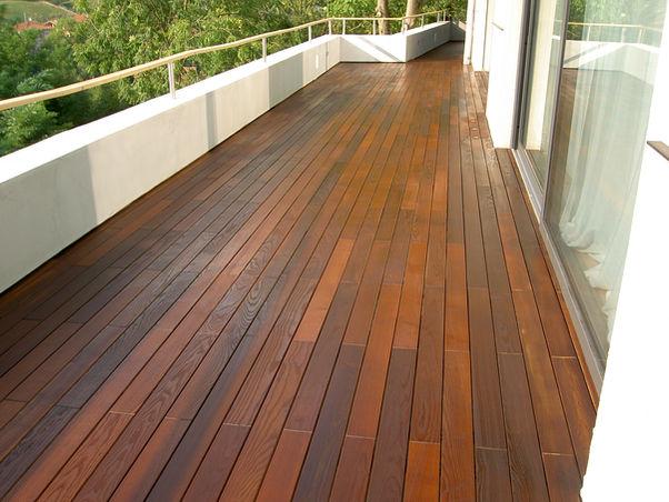 legno pe esterno terrazzo