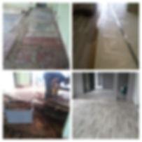 laminato su vecchio pavimento