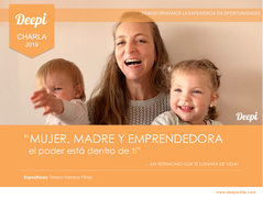 CHARLA MUJER, MADRE Y EMPRENDEDORA