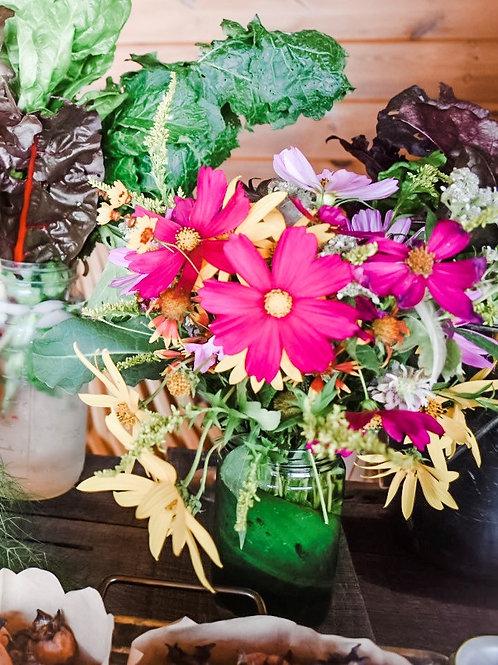 Seasonal Fresh Cut Flower Bouquets