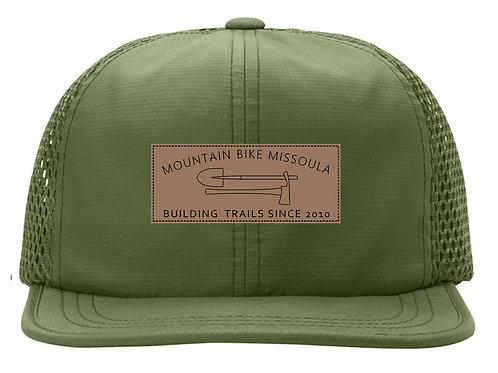 MTB Missoula Green Mesh Hat