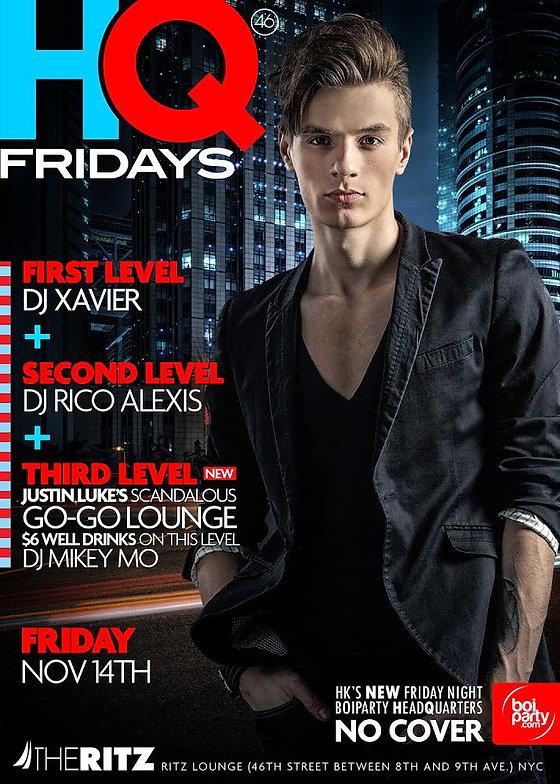 Berlin Fridays NYC Flyer